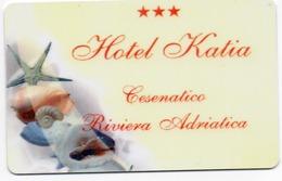 KEY HOTEL CARD-ITALIA-HOTEL KATIA-CESENATICO-RIVIERA ADRIATICA - Chiavi Elettroniche Di Alberghi