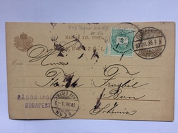 HUNGARY - 1926 Postcard Budapest To Bern Switzerland - Hongrie