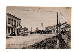 Bonson.La Gare.Route Venant De Saint Rambert. - Otros Municipios