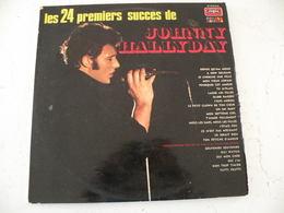 Johnny Hallyday Attention Pochette Vide Vendu Sans Disque -  (Titres Sur Photos) - Vinyle Album 33T - Vinyl-Schallplatten