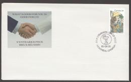 1985  Louis Hebert, Apothecary  Sc 1060  Rare Astra Pharma FDC - Omslagen Van De Eerste Dagen (FDC)