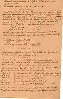 VP12.936 - MILITARIA - VITRY 1916 - Mr MEMINI Du Génie Militaire - Solution Du Problème Le Marbre Cassé ... - Documents