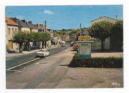 58 La Machine Avenue De La République Et Machecourt En 1978 PUB Kodak Skoda ? Station Essence ESSO Citroën GS - La Machine