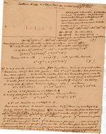 VP12.937 - MILITARIA - VITRY 1916 - Mr E. DATTIN Du Génie Militaire - Problème N° 261.. & 272 Réponse Du Poilu ...... - Documents