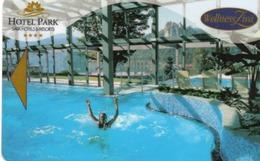 KEY HOTEL CARD-SLOVENIA-HOTEL PARK-SAVA HOTELS RESORTS-WELLNESS ZIVA - Chiavi Elettroniche Di Alberghi