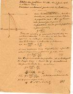 VP12.938 - MILITARIA - VITRY 1916 - Mr MEMINI Du Génie Militaire - Solution Du Problème L'Aviateur Embarrassé ..... - Documents
