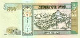 Mongolia P.66a  500 Tugrik 2003  Unc - Mongolia