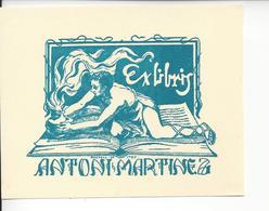 Ex Libris.110mmx85mm. - Ex Libris