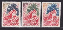 MONACO N°  871 à 873 ** MNH Neufs Sans Charnière, TB (D7564) Le Père Noel - Nuevos