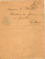 VP12.939 - Franchise Militaire -  LE MANS 1917 - Génie Militaire - Solution Du Problème - Les Planches Des Sapeurs - - Documents