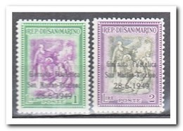 San Marino 1949, Postfris MNH, Stamp Exhibition San Marino/Riccione ( Overprint ) - San Marino
