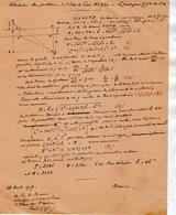 VP12.940 - MILITARIA - LE MANS 1916 - Mr MEMINI Du Génie Militaire - Solution Du Problème - Le Pont Par 7568 Du P.M. - Documents