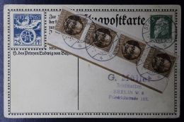 Bayern Special Luftpost Karte  SFP1  Uprated - Bayern (Baviera)
