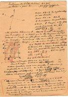 VP12.941 - MILITARIA - LE MANS 1917 - Mr MEMINI Du Génie Militaire - Problème - Le Boche A Passé Là...... - Documents