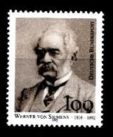 Allemagne Rep.Fed. 1992  Mi.:nr.1642 Todestag Werner Von Siemens  Neuf Sans Charniere / Mnh / Postfris - Neufs