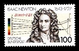 Allemagne Rep.Fed. 1993  Mi.:nr.1646 Geburtstag Sir Isaac Newton  Neuf Sans Charniere / Mnh / Postfris - Neufs