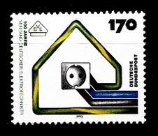 Allemagne Rep.Fed. 1993  Mi.:nr.1648 Verband Deutscher Elektrotechniker  Neuf Sans Charniere / Mnh / Postfris - Neufs