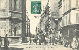 RUE DULONG - RUE LEGENDRE - PARIS - 17° ARRONDISSEMENT - TRES ANIME - Arrondissement: 17