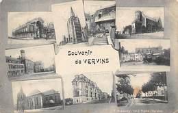 Vervins           02       Souvenir De ...   Mini Vues Sur Une Seule Carte       (voir Scan) - Vervins