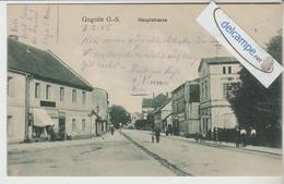 GOGOLIN O.S. : Hauptstrasse,animée. Voir Dos. - France