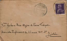 Portugal , 1935 , Costa Do Valado  Postmark , Stamp Carmona - Postmark Collection