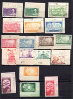 1951-52,  Chine Oblitéré, Entre 918 Et 962, Cote 61,50 € - Oblitérés