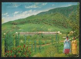 IRAQ Gardens & Modern Grand Hotel Picture Postcard View Card CONDITION AS PER SCAN - Iraq
