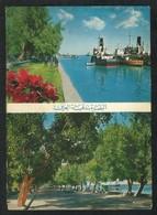 IRAQ Basrah 2 Scene Picture Postcard View Card - Irak