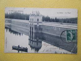 MONTSAUCHE LES SETTONS. Le Lac Des Settons. La Digue. - Montsauche Les Settons