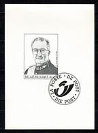 België/Belgique ZW/NB  1998  Kon. Albert II / Roi Albert II  2740** - Black-and-white Panes