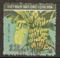 North Vietnam 1959 Mi# 111 Used - Short Set - Fruits / Bananas - Viêt-Nam