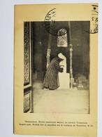 C.P.A. : OUZBEKISTAN, SAMARCAND, Mollah Fait Le Sacrifice Sur Le Tombeau De Tamerlan, In 1914 - Ouzbékistan