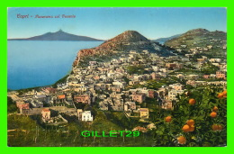 CAPRI, ITALIE - PANORAMA COL VESUVIO - EDIT, BRUNNER & CO - - Napoli (Naples)