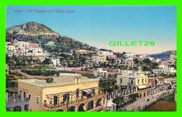 CAPRI, ITALIE - VIA TRAGARA CON L'HÔTEL ROYAL -  EDITORI, TRAMPETTI & MIGLIACCIO - - Napoli (Naples)