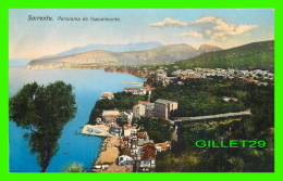 SORRENTO, ITALIE - PANORAMA DA CAPODIMONTE  - ED. C. COTINI - - Napoli (Naples)