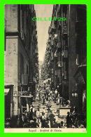 NAPOLI, ITALIE - GRADONI DI CHIAIA - ANIMATED - TRAVEL IN 1922 - EDIT. BRUNNER & CO - - Napoli (Naples)