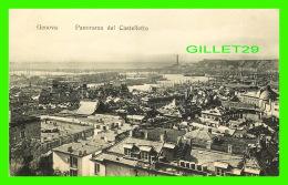 GENOVA, ITALIE - PANORAMA DAL CASTELLETTO - VARIETAS-GENOVA - - Genova (Genoa)