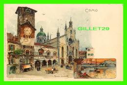 COMO, ITALIE - MANUEL WIELANDT - J. VELTEN, EDITORE - - Como