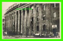 ROMA, ITALIE - TEMPIO DI NETTUNO OGGI BORSA - ANIMATED -  ED. A. TRALDI - - Roma (Rome)