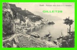 AMALFI, ITALIE - PANORAMA DALLA GROTTA DI S. CRISTOFORO - EDIT. ANDREA FUSCO DIPINO - - Salerno