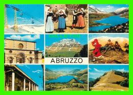 TORTORETA, ITALIA - ABRUZZO PITTORESCO - 9 MULTIVUES - TRAVEL IN 1983 -0 - Teramo