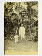 C.P.A. : ILE MAURICE,MAURITIUS, Type Of Indian, Type D' Indien, Collection Guillemin - Mauritius