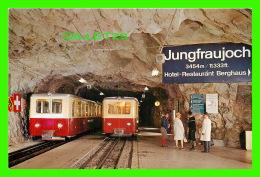 JUNGFRAUJOCH,  SUISSE - BERGSTATION - GARE DE TRAIN - - Suisse