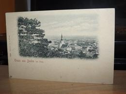 POSTKARTE GRUSS AUS BADEN BEI WIEN AK CPA - Baden Bei Wien