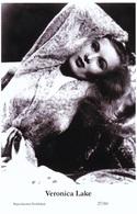 VERONICA LAKE - Film Star Pin Up PHOTO POSTCARD - 27-60 Swiftsure Postcard - Postales