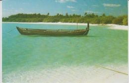 Maldives Circulated Postcard (ask For Verso / Demander Le Verso) - Maldives