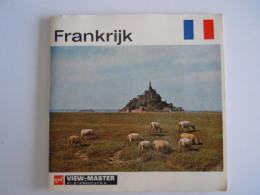 View-master Viewmaster Gaf Frankrijk 3 Schijfjes Reels C 230 2301-2302-2303 + Boekje - Visionneuses Stéréoscopiques