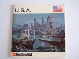 View-master Viewmaster Gaf U.S.A. 3 Schijfjes Reels A 997 9971-9972-9973 + Boekje - Visionneuses Stéréoscopiques