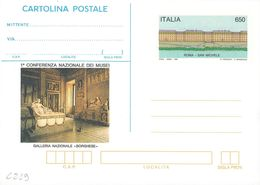 """INTERO POSTALE CONFERENZA NAZIONALE MUSEI ROMA - SAN MICHELE L. 650 - CATALOGO FILAGRANO """"C219"""" - NUOVO ** 1990 - 6. 1946-.. Repubblica"""