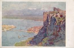 XALB.40.  Skutari (Skodra) Vom Alten Turkischen Kastell - Offizielle Karte Für: Rotes Kreuz... - Albania
